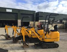 Sonstige Choice Of 3 JCB 8008 Micro Digger
