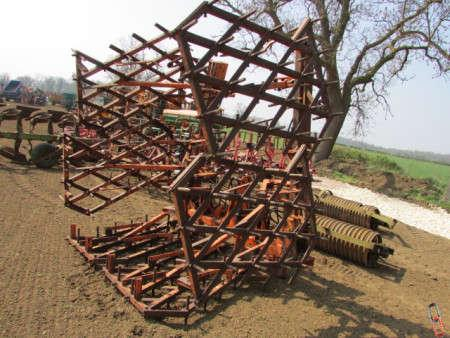 WILDER 6.8 metre Pressure Harrow, hyd folding
