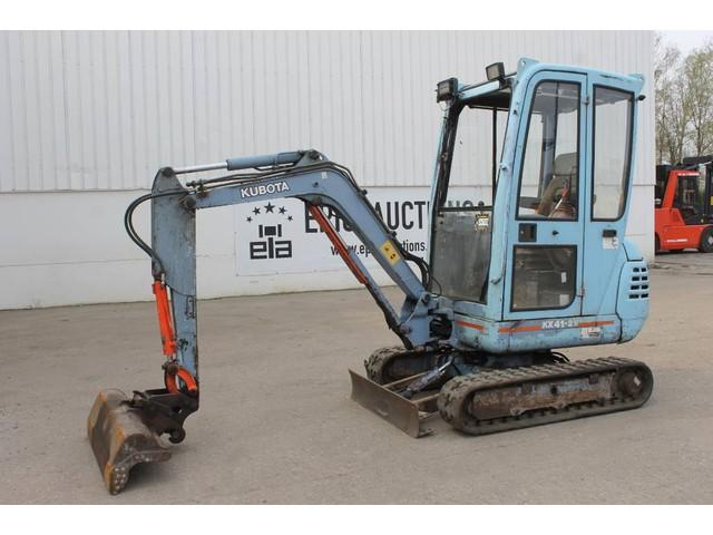Kubota KX41-2V Mini Graafmachine